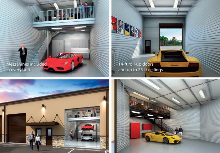 Garage Unlimited Interior Renderings