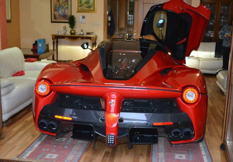 Would You Park Your Ferrari Laferrari Inside Your House