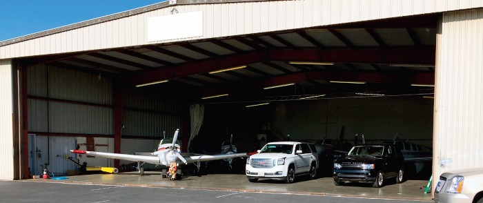 Hangar Storage Not Likely A Viable Alternative For Cars