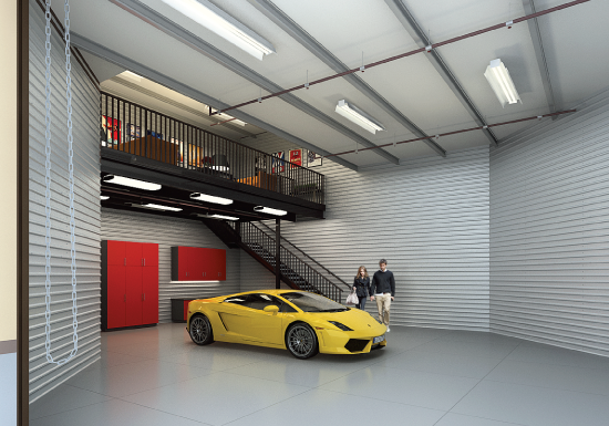 Man Cave Storage Condos : Monterey car week is coming — where will you park